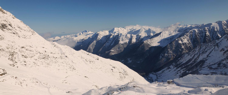Vue sur montagne, Cauterets