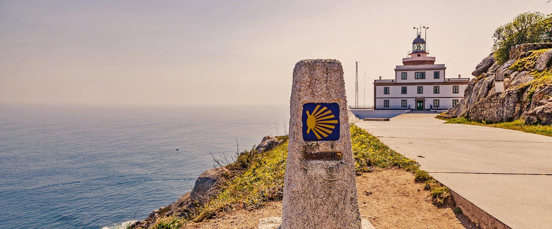 El Camino de Santiago por su paso por Finisterre