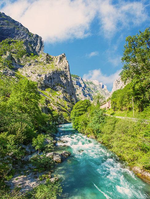 Sorgfalt-Weg in Asturien