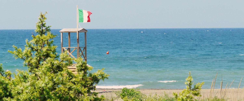 Strand bei Marina die Castagneto