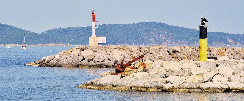 El puerto de Cavalaire-sur-Mer