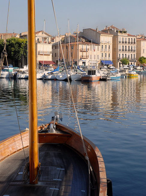 Vue sur le port, la Ciotat