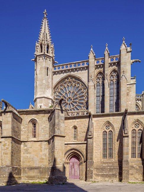 La basílica de San Nazario de Carcasona
