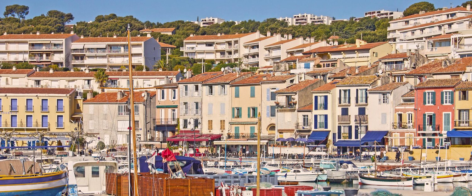 Fishing village Cassis