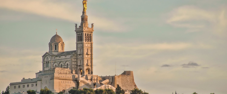 Bazylika Notre-Dame de la Garde w Marsylii