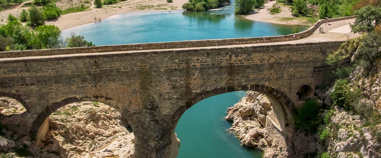 Pont dans l'Hérault