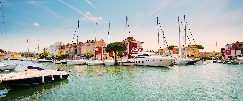 The port of Grimaud