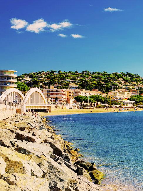 Küste von Sainte-Maxime