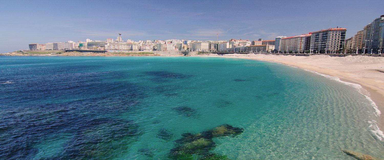 Playa de La Coruña