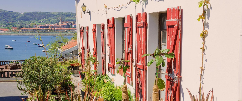 Balconada en Hendaya