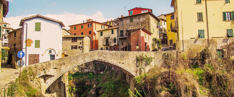 El pequeño puente de la cuidad