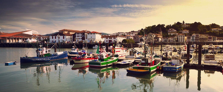 El puerto de San Juan de Luz