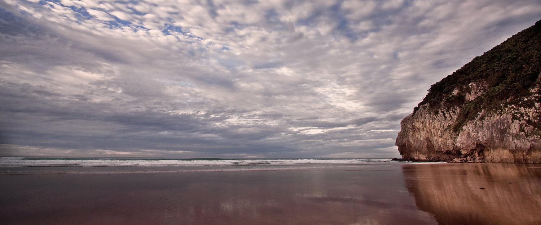La maravillosa playa de Berria en Santoña