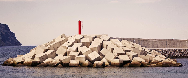 Icono del puerto pesquero de Santoña