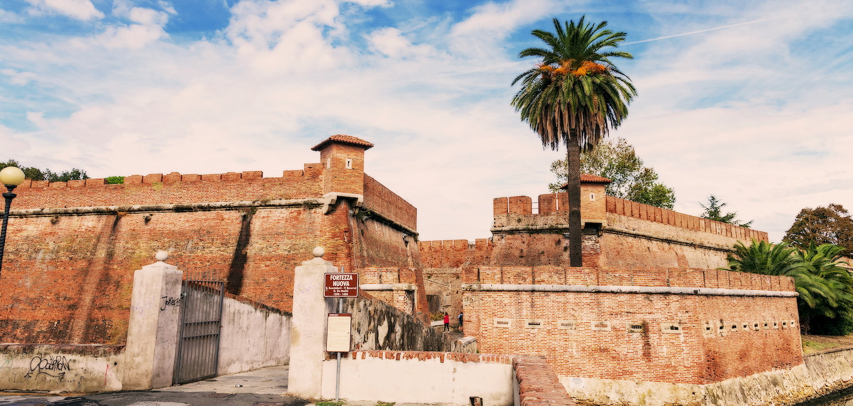 Die beeindruckende Festung Fortezza Nuova