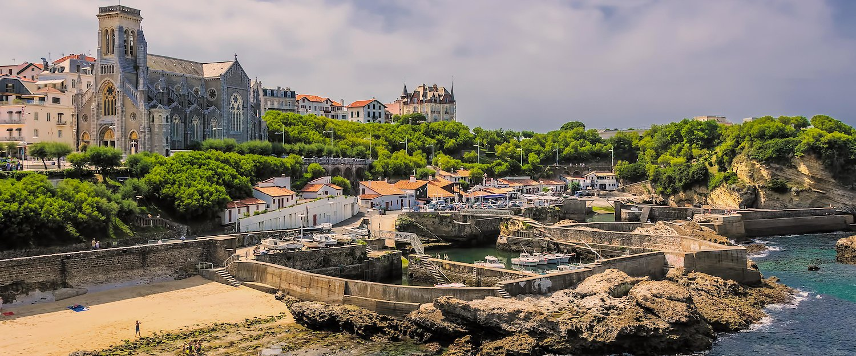 El puerto di Biarritz