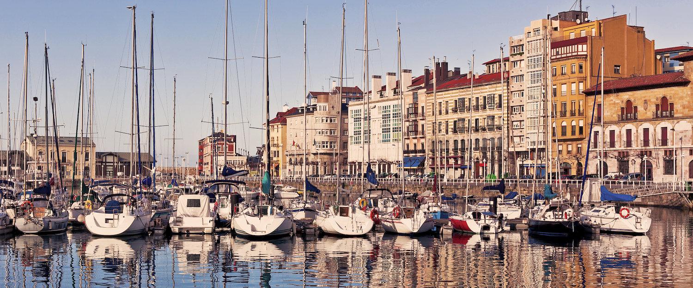 Puerto pesquero de Gijón