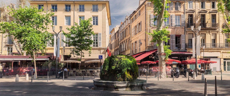 Altstadt in Aix-de-Provence