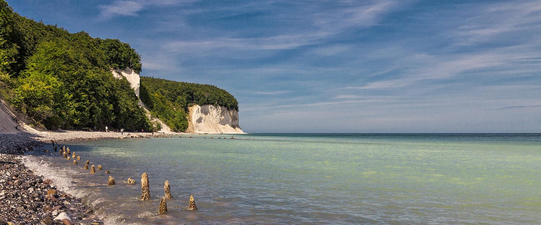 Am Strand von Altefähr