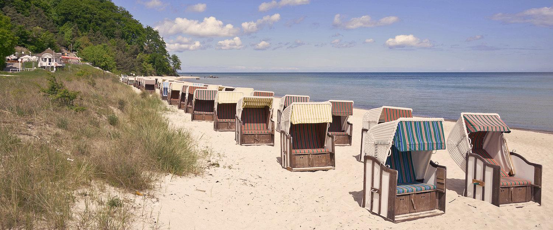 Strandkörbe in Altefähr