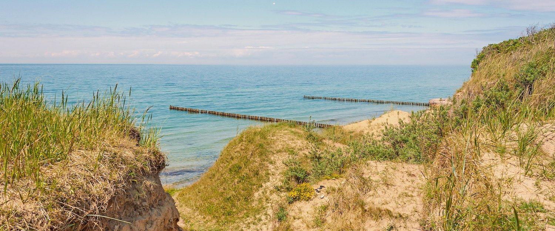 Blick über die Ostsee.