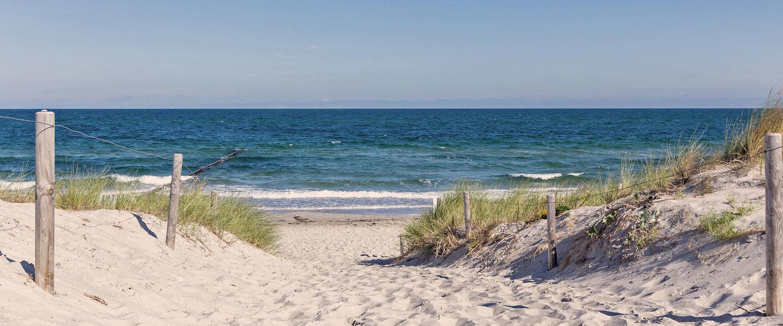 Erholung und Ruhe finden Sie direkt am Meer