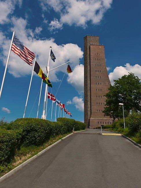 Das Ehrendenkmal in Laboe