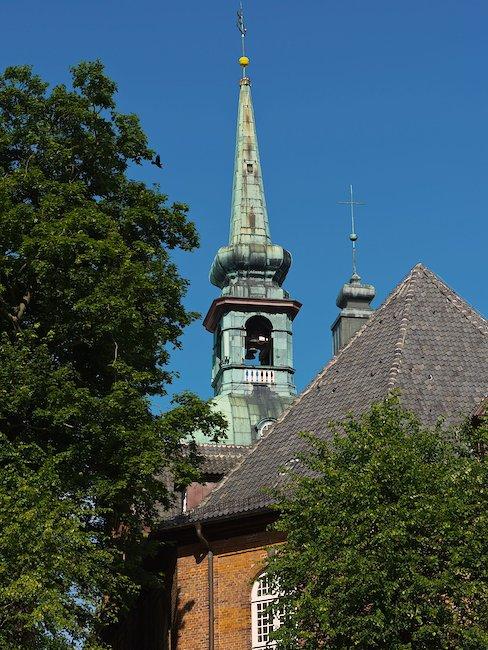 Die Kirche in Kappeln.