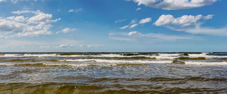 Der Blick über die Ostsee.