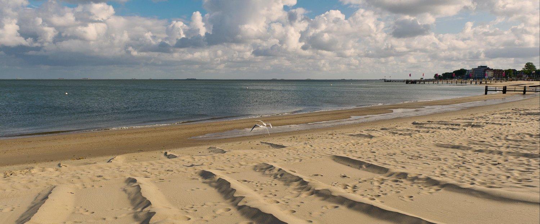 Der Sandstrand auf Föhr