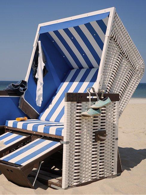 Strandstoel bij Wenningstedt
