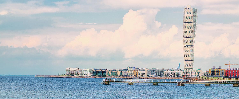 Turning Torso i Malmö