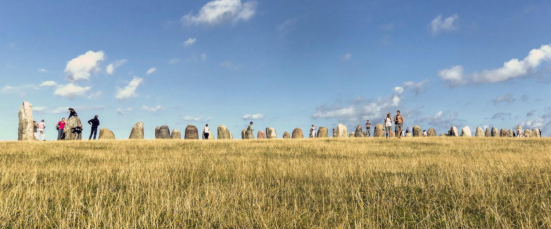Die mystischen Steine von Ales Stenar
