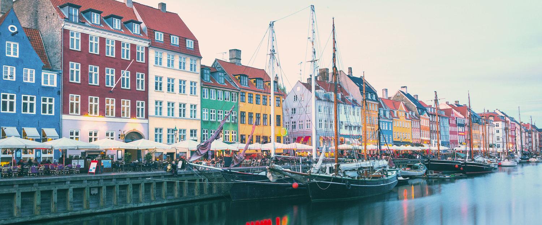 Nyhavn i Köpenhamn