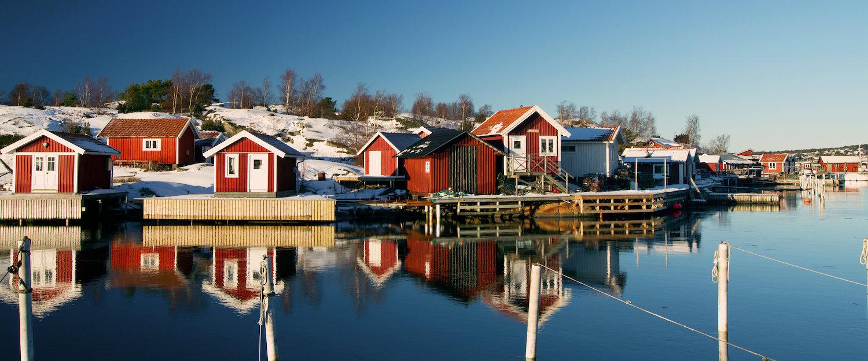 Skärgårdsstugor på Sveriges västkust