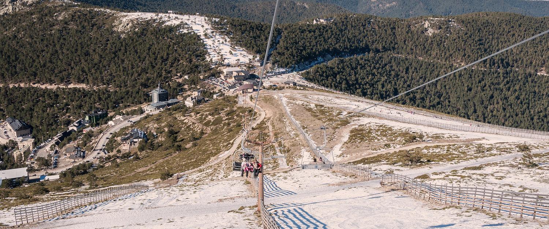 Pistas de esqui en Navacerrada