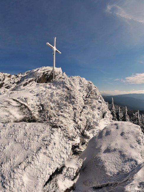 Winteridylle in het Beierse Woud