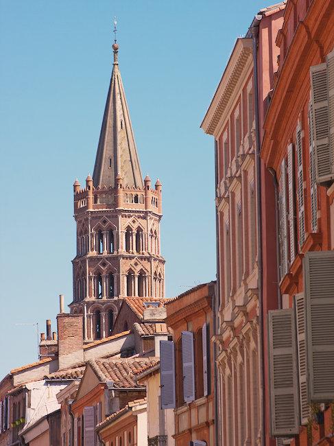 Fachadas de Toulouse