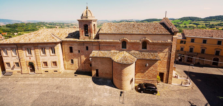 Offagna, provincia di Ancona.