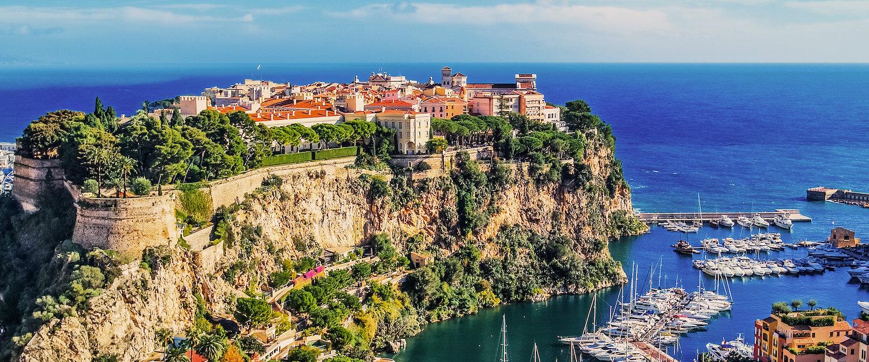 Der Fürstenfelsen von Monaco