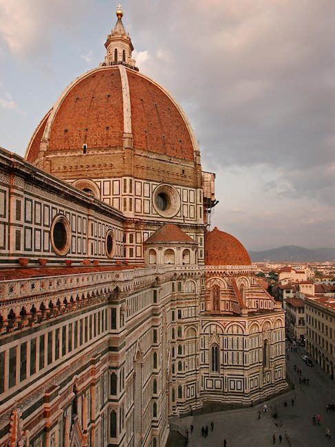 View of the Basilica di Santa Maria del Fiore