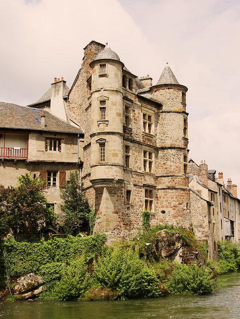 Château dans l'Aveyron