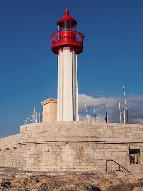 Leuchtturm von Menton