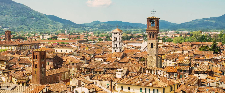 Panoramica della città.