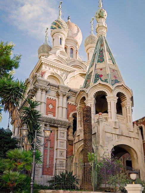 Russische Kirche in Sanremo an der Riviera di Ponente