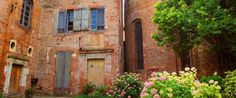 Maison de briques rouges Albi