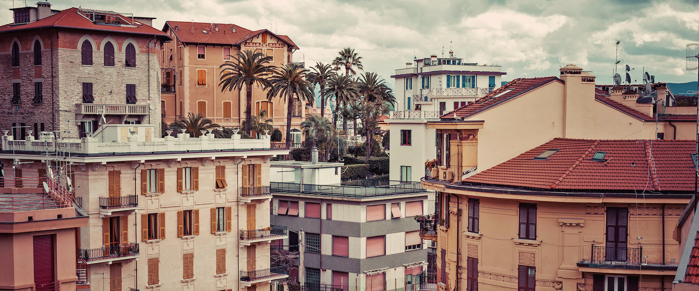 Tipiche case di La Spezia.