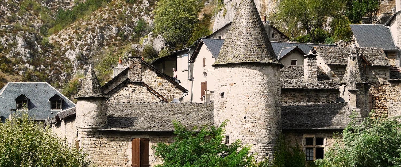 Maison de pierre dans Lozère