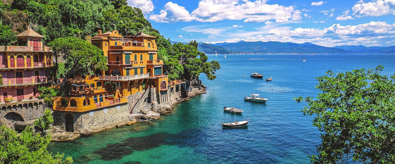 Villen am Ligurischen Meer bei Portofino