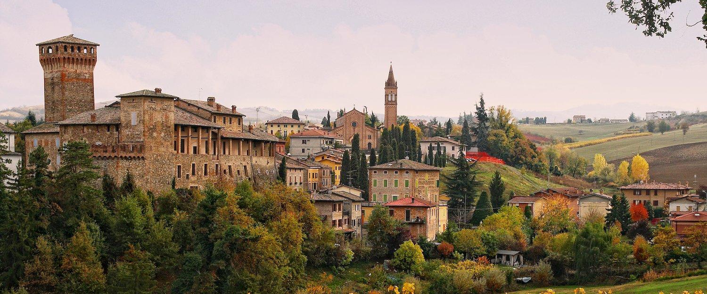 Widok na Bolonię